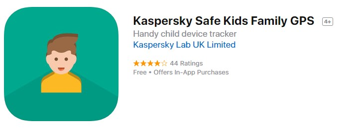 Kaspersky GPS Tracker for Kids
